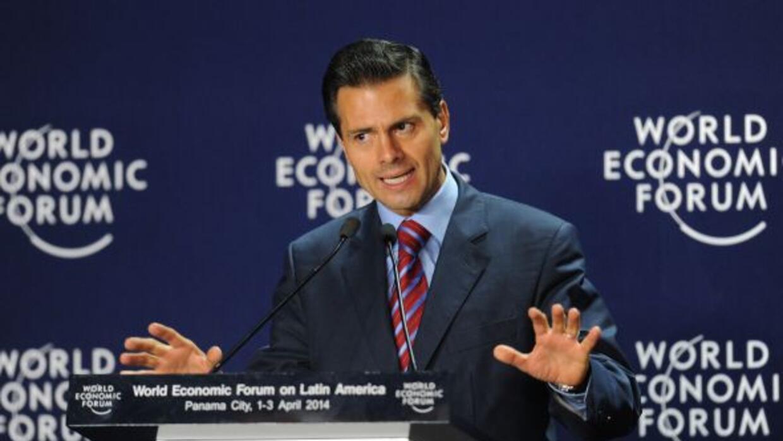 El presidente de México estuvo presente en el Foro Económico Mundial.
