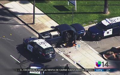 Identifican a un hombre baleado tras una persecución policial en San José