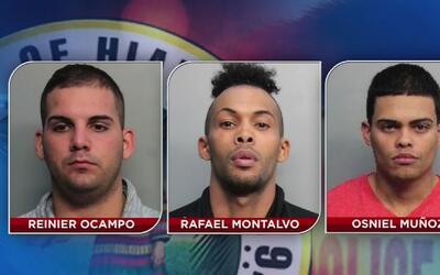 Están tras las rejas tres sospechosos de robo a mano armada en gasoliner...