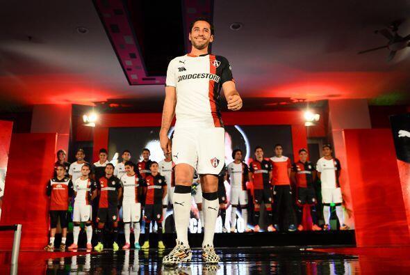 Atlas presentó su uniforme para el Apertura 2014, el club de Guadalajara...