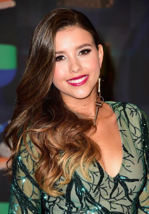 Paulina Goto attends Univision's Premios Juventud 2015 at Bank Unite...