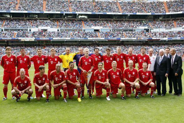 El Bayern también tuvo a varios futbolistas que vistieron sus col...
