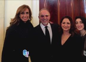 Lili y la familia Estefan celebraron en grande en la Casa Blanca