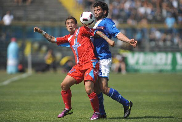 Brescia recibía al Catania con la urgencia de sumar para salir de...