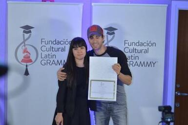 Silviana Itzel Salinas-Reyna, de 23 años, fue la ganadora de la Beca Enr...