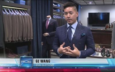 Ge Wang, el hombre que viste a los atletas