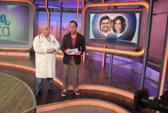 Daniel Arenas en El Gordo y La Flaca