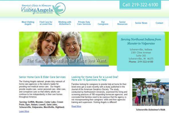 VISITING ANGELS- La empresa de servicios a la salud busca: Cuidador/acom...