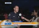Balacera entre policía y sospechosos en Whittier