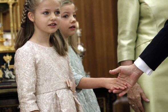 La princesa de Leonor acaba de ser nombrada princesa de Asturias y es la...