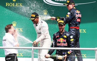Lewis Hamilton ganó el Gran Premio de Alemania; 'Checo' Pérez remontó y...