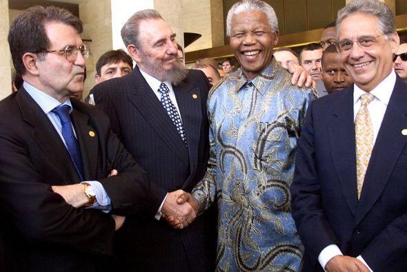 El respeto de Fidel Castro hacia Mandela se resume en el mensaje que le...