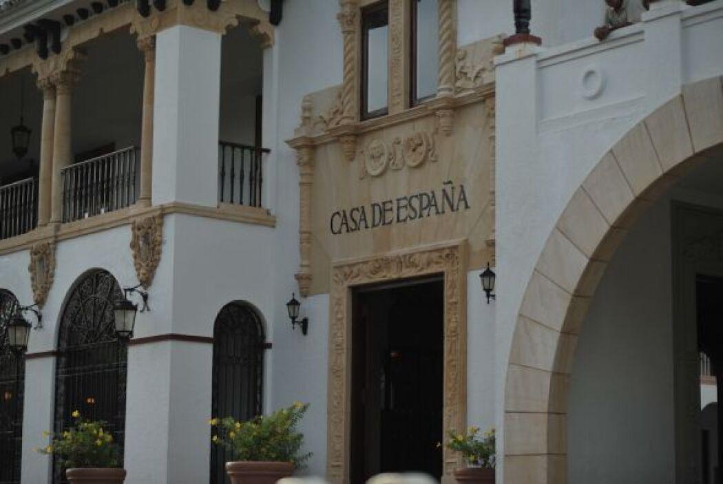 El lugar elegido por la pareja fue Casa España, en Puerto Rico, un lugar...