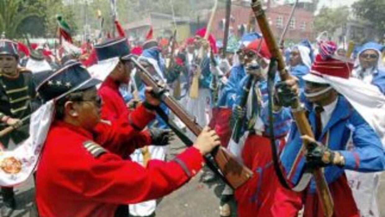 Se conmemora el aniversario de la conocida Batalla de Puebla en la que e...