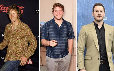 La evolución fashion de Chris Pratt