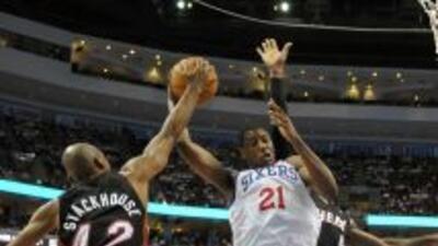 Heat v Philadelphia 10 17 10