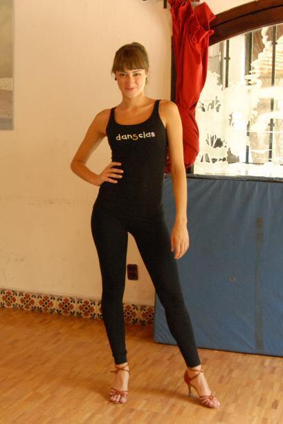 Ella disfruta al máximo su profesión, ser bailarina es su más grande pas...