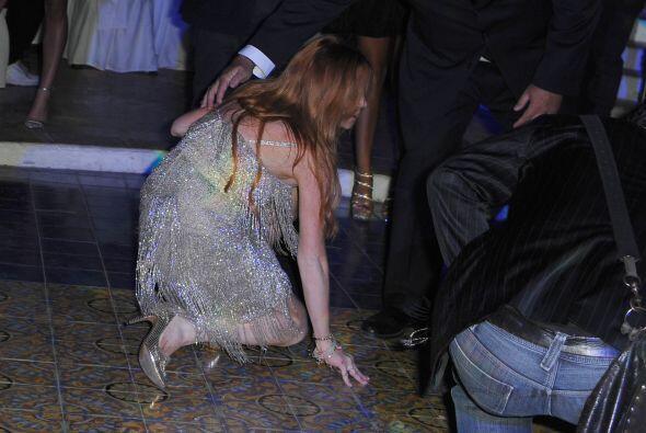 El fotógrafo que cubría el evento no perdió oportunidad de retratar el p...