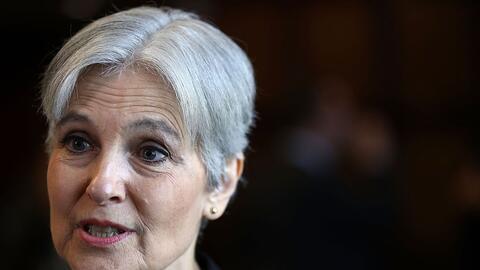 Jill Stein, candidata del Partido Verde