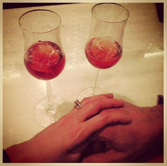 """""""Amo estar contigo... #almagemela #bendecida"""", compartió Karla. (Enero 1..."""