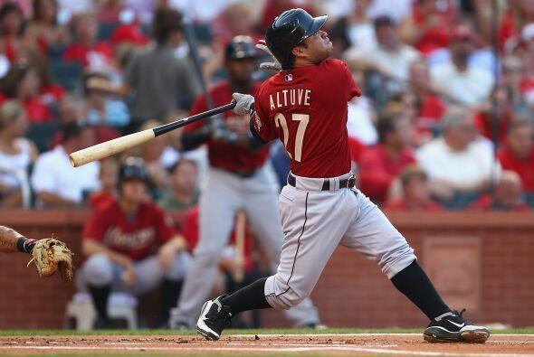 2B. José Altuve. Astros de Houston. Ha participado poco en la tem...