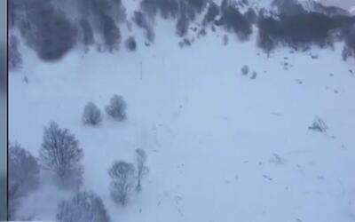 30 personas están desaparecidas tras una avalancha en zona montañosa del...