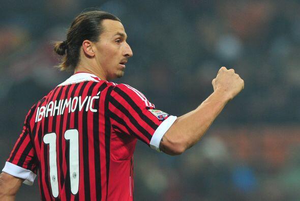 Con la ayuda de Zlatan, el Milan quedó a un solo punto de la 'Juv...
