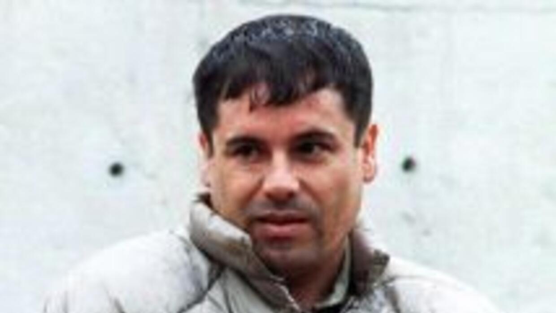 El considerado como el narcotraficante más poderoso de México, Joaquín E...
