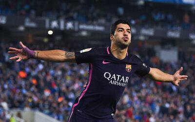 Suárez se reencontró con el gol.