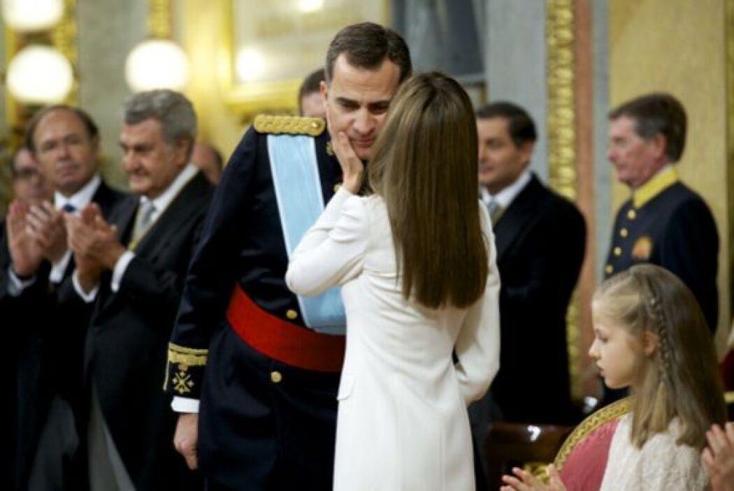 A primera hora en el Palacio de la Zarzuela, Felipe y Letizia se mostrar...