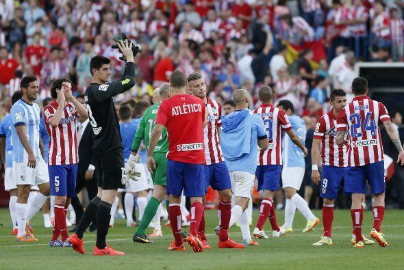 Atlético acabó empatando 1-1 y dejando que todo se deba de...