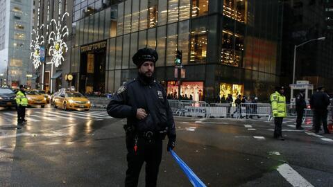 Reabren vías en Manhattan cercanas a la Trump Tower