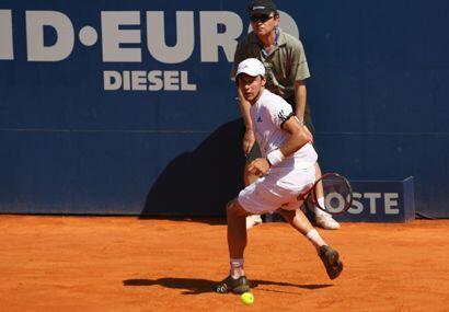 Por su parte Juan Monaco tuvo un gran partido ante Martín Vassall...