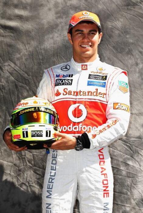 Sergio Pérez, México, McLaren-Mercedes.