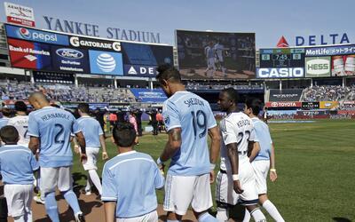 NYCFC necesita volver a sumar puntos en el Yankee Stadium.