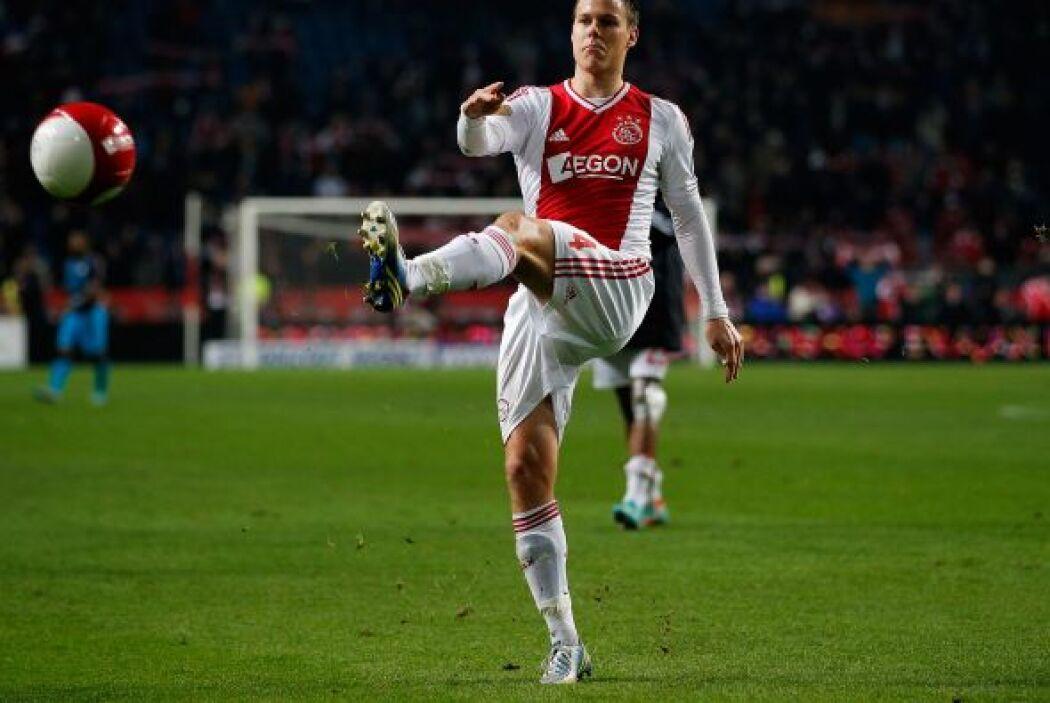 El defensa del Ajax de Ámsterdam estuvo entre los anotadores de su club...