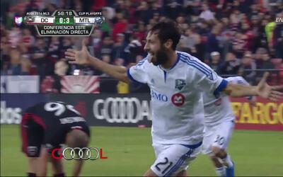 Goooolll!! Matteo Mancosu mete el balón y marca para Montreal Impact
