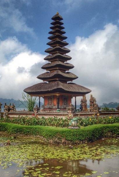 El templo balinés Pura Ulun Danu fue otro de los maravillosos lug...