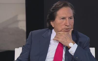 El expresidente de Perú Alejandro Toledo es acusado de corrupción. Esto...