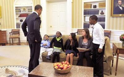 Un día en la vida del presidente de Estados Unidos siempre es ajetreado....