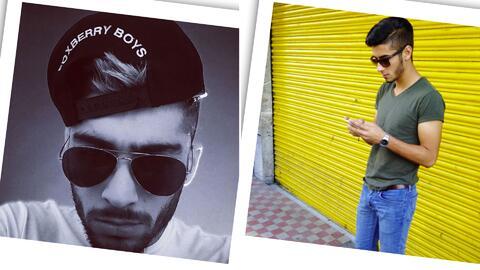 Alex Ponce es el hermano perdido de Zayn Malik