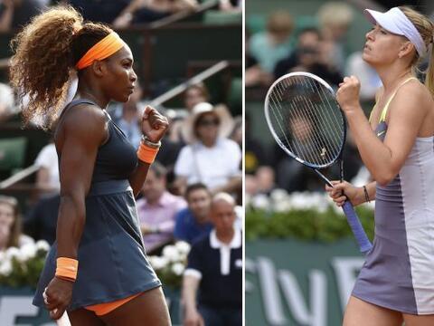 Se cumplieron los pronósticos en Roland Garros: Serena Williams y...