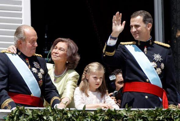 Una familia real muy cariñosa.