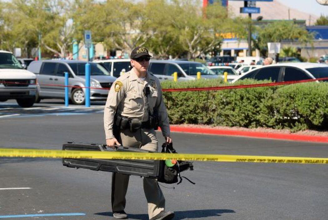 Tras la tercera víctima, la mujer disparó contra su compañero.