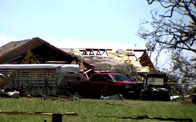 Así vivieron los residentes de Canton el paso del tornado