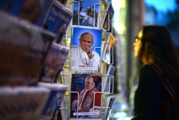 """Patricia Porpora, propietaria de la """"Librería Española"""" en Roma, dijo en..."""