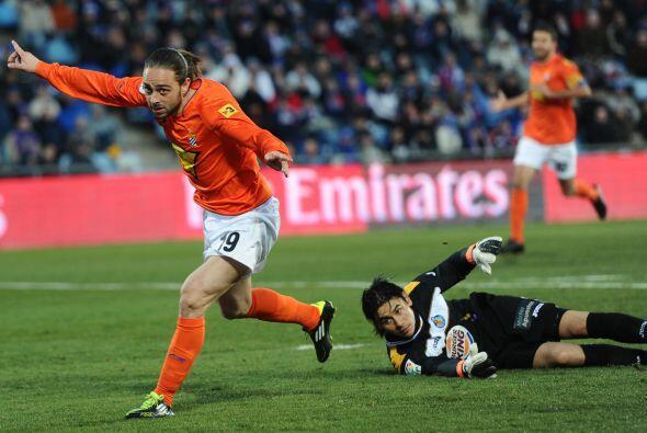 Pero el atacante Sergio García sentenció el duelo.