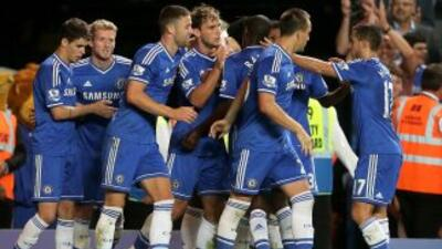 Un gol de Ivanovic rescató a los 'Blues' en la segunda parte, luego de q...