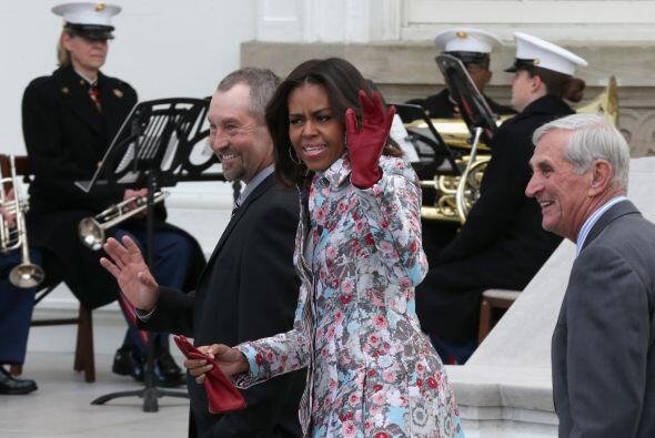 Desde que la familia Obama llegó a la casa blanca, las damas son...