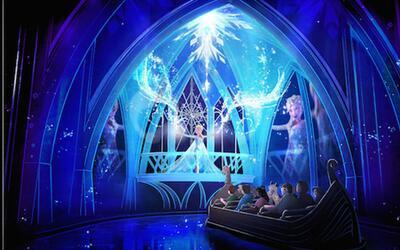 Disney estrenará en junio su nueva atracción 'Frozen Ever After'.